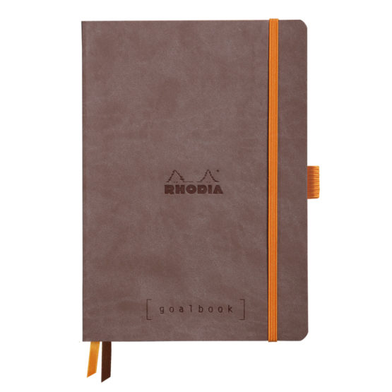 Rhodia Goalbook soft chocolate A5 dot ivory