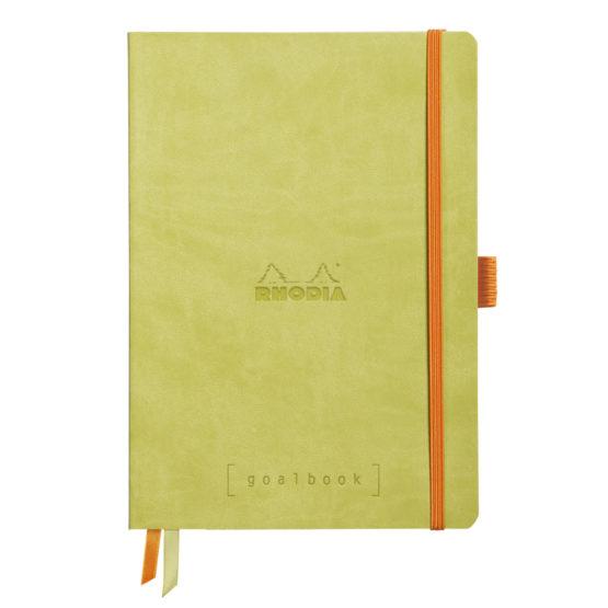 Rhodia Goalbook soft anise A5 dot ivory