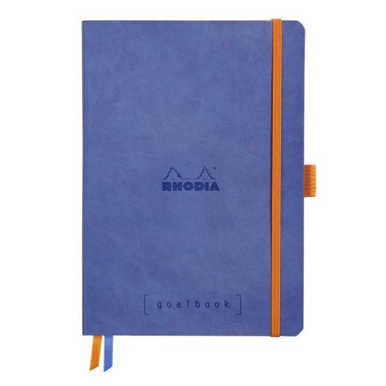 Rhodia Goalbook soft sapphire A5 dot ivory