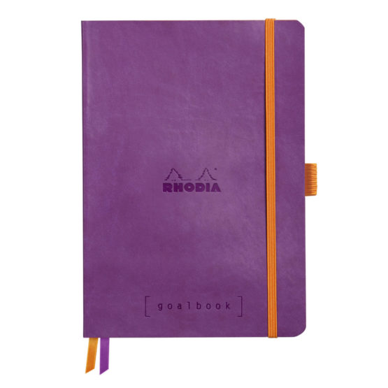Rhodia Goalbook soft purple A5 dot ivory