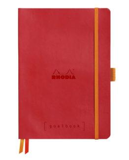 Rhodia Goalbook soft poppy A5 dot ivory