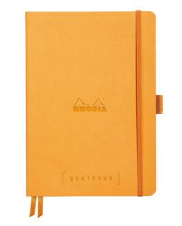 Rhodia Goalbook soft orange A5 dot ivory