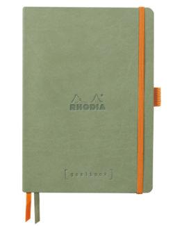 Rhodia Goalbook soft celadon  A5 dot ivory