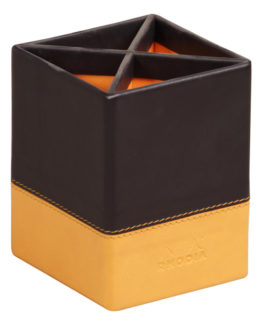 Rhodiarama Pencil holder Black 8x8x11