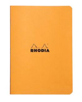 Rhodia Classic stapl orange A5 ruled