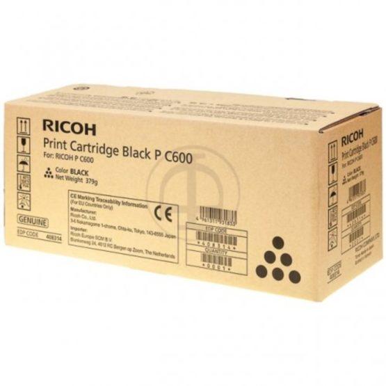 Ricoh PC600 black toner 17k
