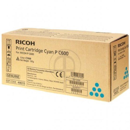 Ricoh PC600 cyan toner 13k