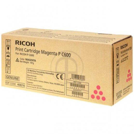Ricoh PC600 magenta toner 13k