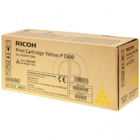 Ricoh PC600 yellow toner 13k