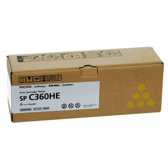 RICOH Toner Yellow SPC360/C361 5k