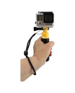 Rollei Actioncam Hand Grip Floaty, Yellow