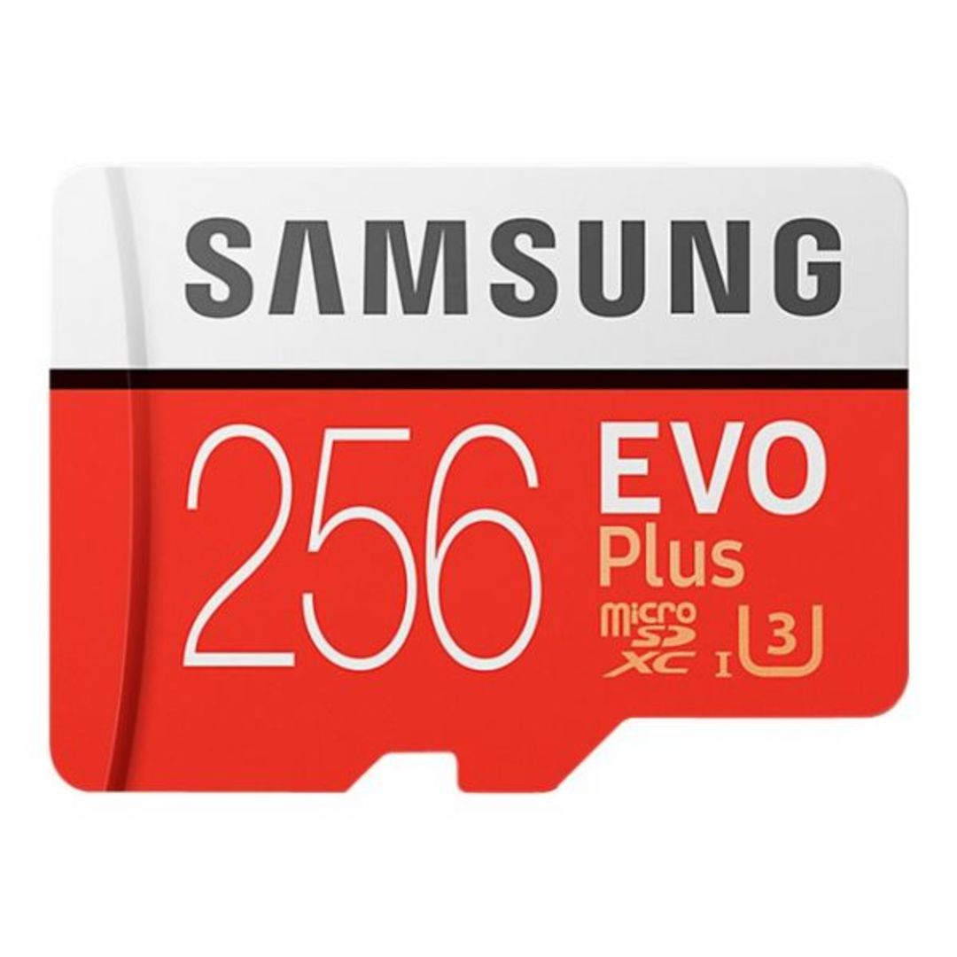 Micro SDXC Card EVO PLUS 256GB Class 10