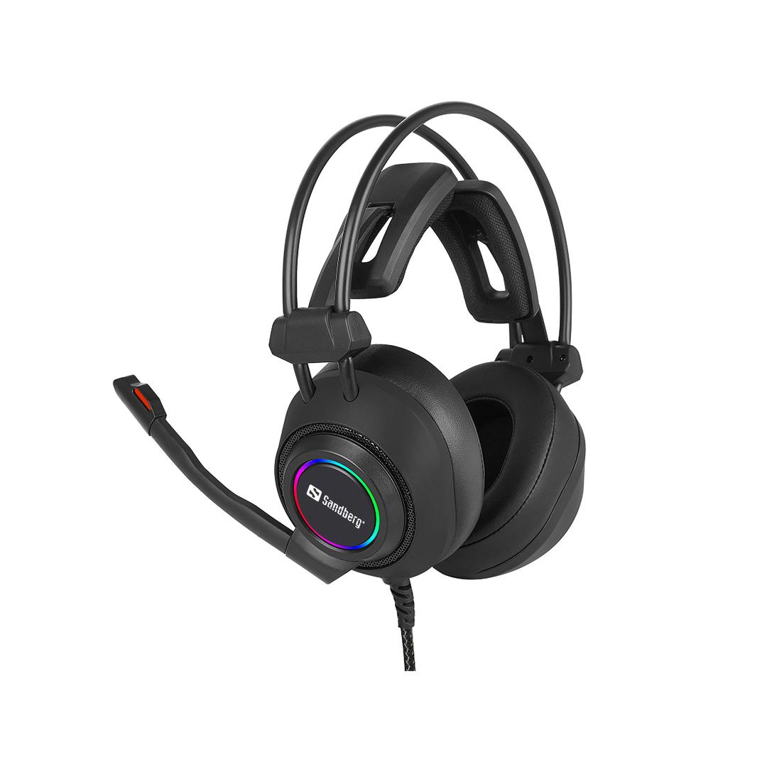 Sandberg Savage Headset USB 7.1, Black