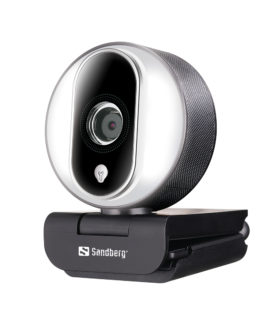 Streamer USB Webcam Pro, Black/Silver