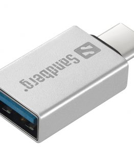 USB-C to USB 3.0 Dongle, Silver