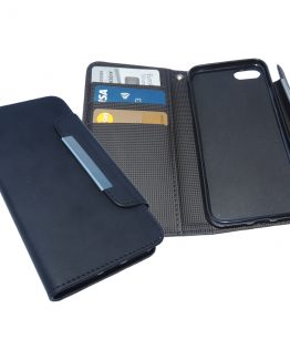 iPhone 8/7/6/6S Flip Wallet, Black