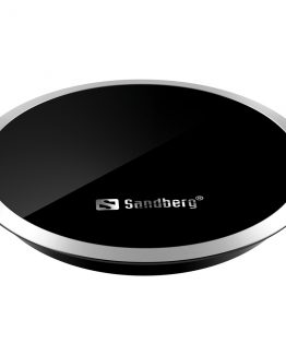 Wireless Qi Charger for Desk 10W, Black