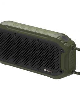 Waterproof Bluetooth Speaker, Green/Black