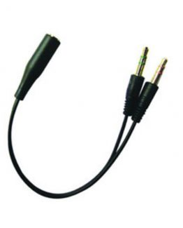 Headset Converter Mobile to PC, Black