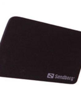 Mouse Pad, Black (26x22cm)