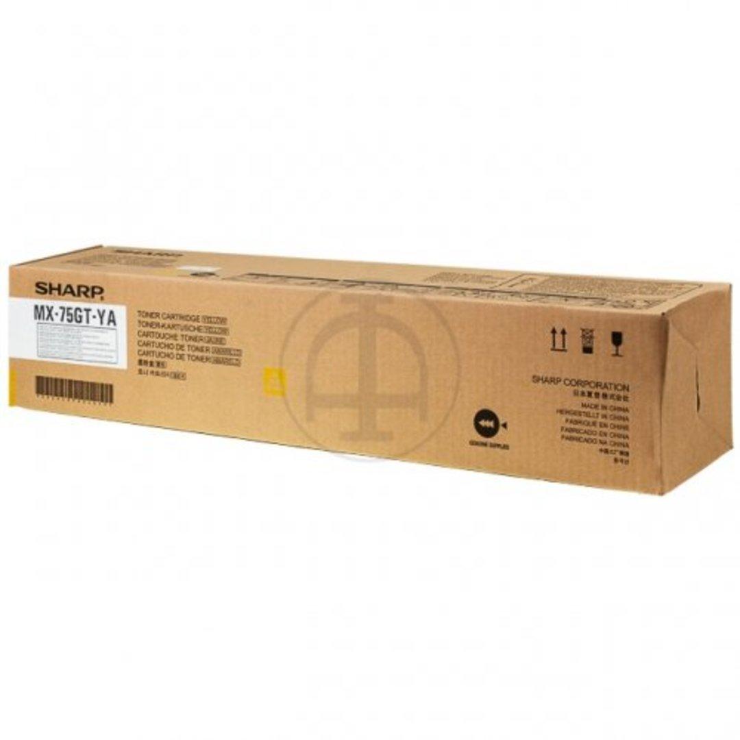 Sharp MX75GTY Yellow Toner