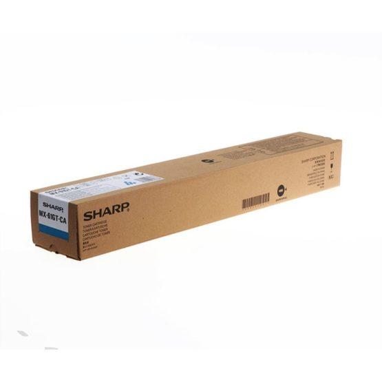 Sharp MX61GTCA Cyan Toner 24K