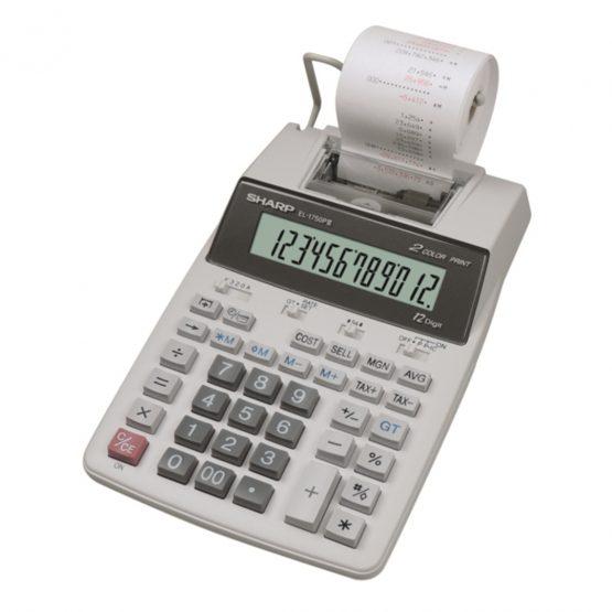 Printing Calculator SHARP EL-1750V