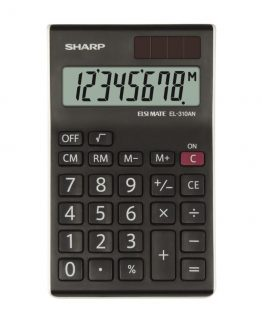 Desk Calculator SHARP EL-310ANWH