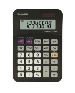 Desk Calculator SHARP EL-330FB black
