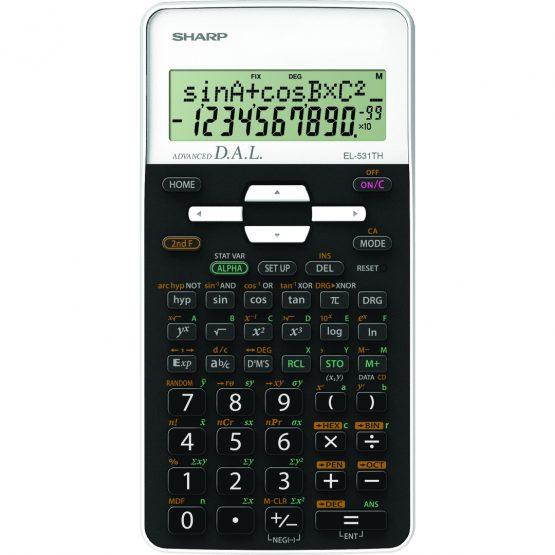 Scientific Calculator SHARP EL-531TH white