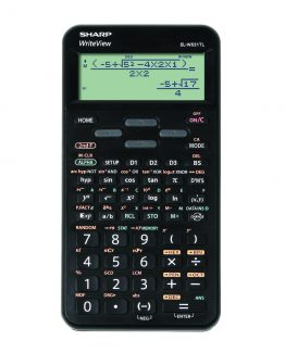 Sharp scientific calculator EL-W531TL black