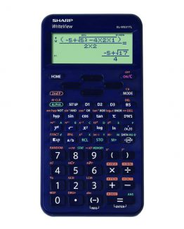 Sharp scientific calculator EL-W531TL dark blue
