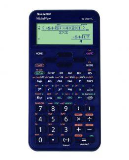 Sharp scientific calculator EL-W531TL dark blue