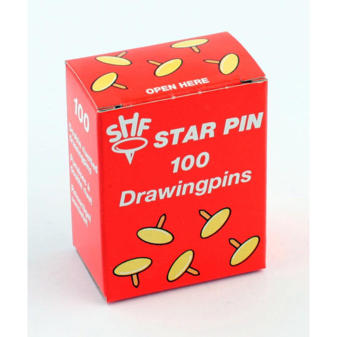 Drawing Pins SHF Star Pin 100pcs