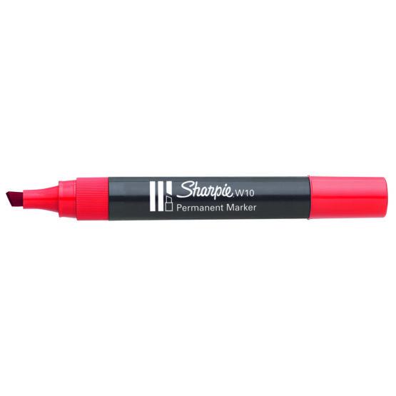 Marker Sharpie chisel 1,5/3,5 red