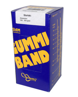Rubber bands 500 gram Nr.18 75x1,5mm