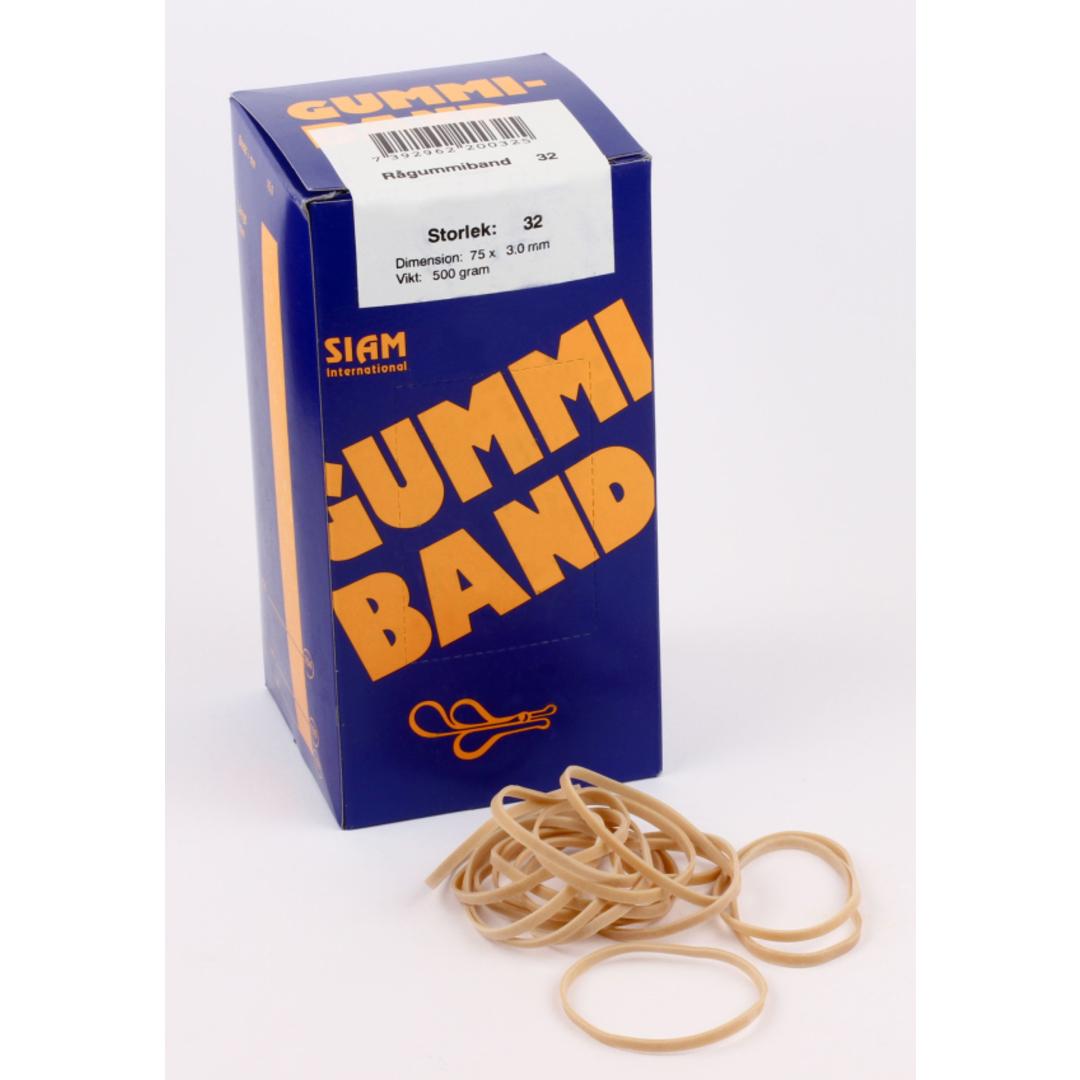 Rubber bands 500 gram Nr.32 75x3,0mm