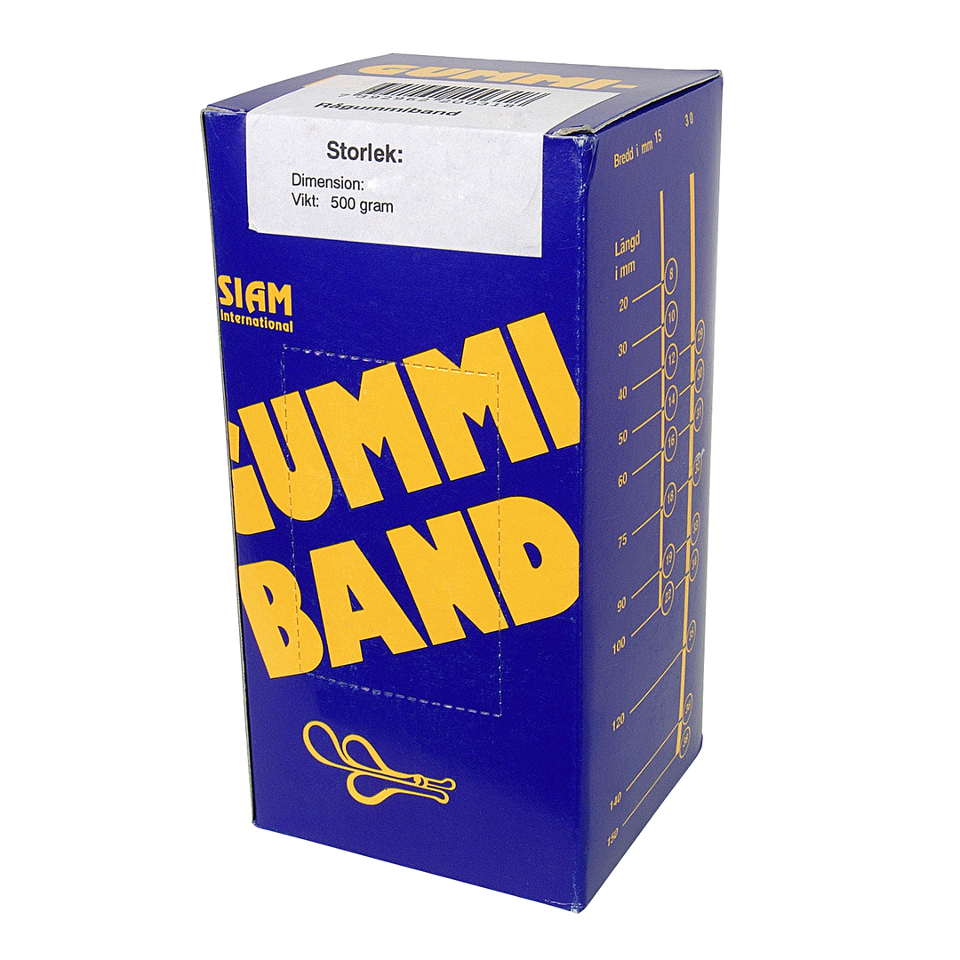 Rubber bands 500 gram Nr.12 40x1,5mm