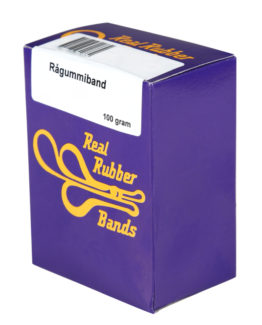 Rubber bands 100 gram Nr.18 75x1,5mm
