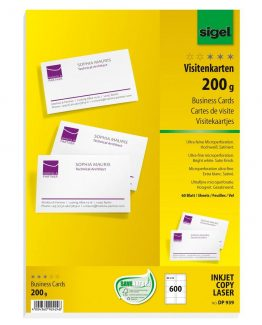 Business cards MICRO 200 gr 600 sheets