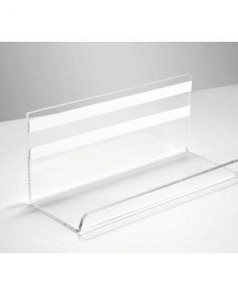 Pen Tray Artverum 170x75x70 mm clear