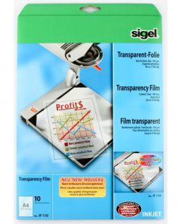 InkJet Transparency Film 100mic A4 (10)