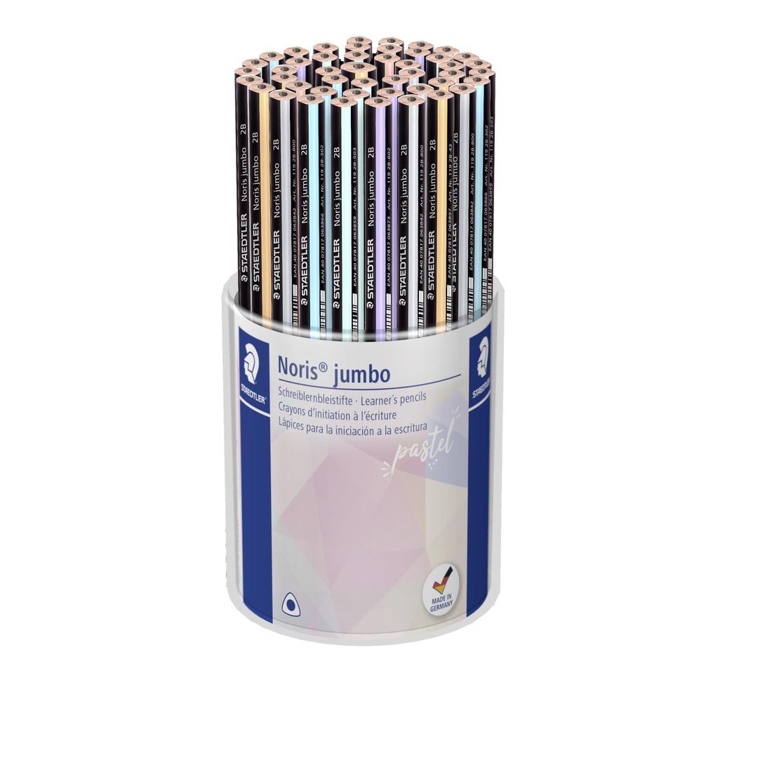 Pencil Jumbo Pastel Line display (48)