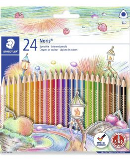 Coloured pencil Noris Club triangular ass (24)