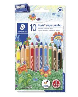 Coloured pencil Noris Club Super Jumbo ass (10)