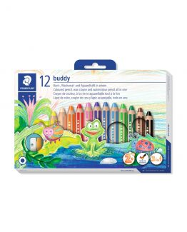 Coloured pencil Buddy chunky 3in1 (12)