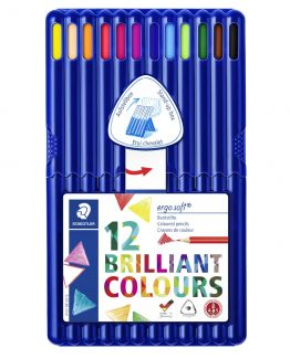 Coloured pencil Ergosoft ass (12)