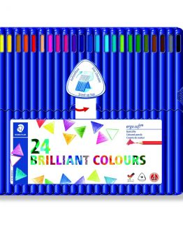 Coloured pencil Ergosoft ass (24)