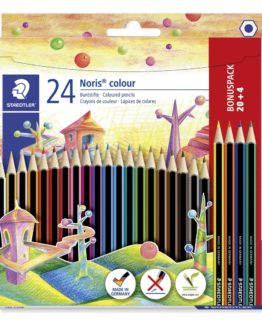 Coloured pencil Noris Colour ass (20+4)