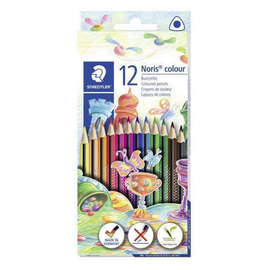 Coloured pencil Noris WOPEX triangular (12)